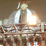 WGS Minor Nick Wade was the Commencement Speaker for the Fall 2012 Graduation ceremony.