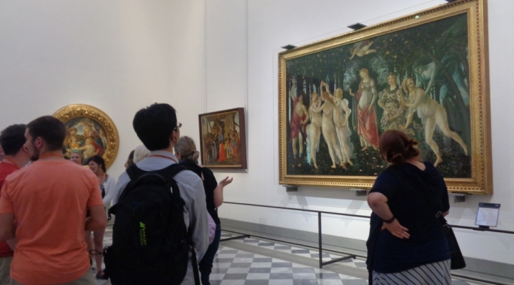 Italy Study Abroad: Stacey Sizemore and Botticelli