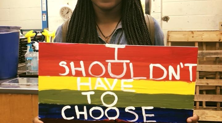 Simone Brown expresses her intersectionality
